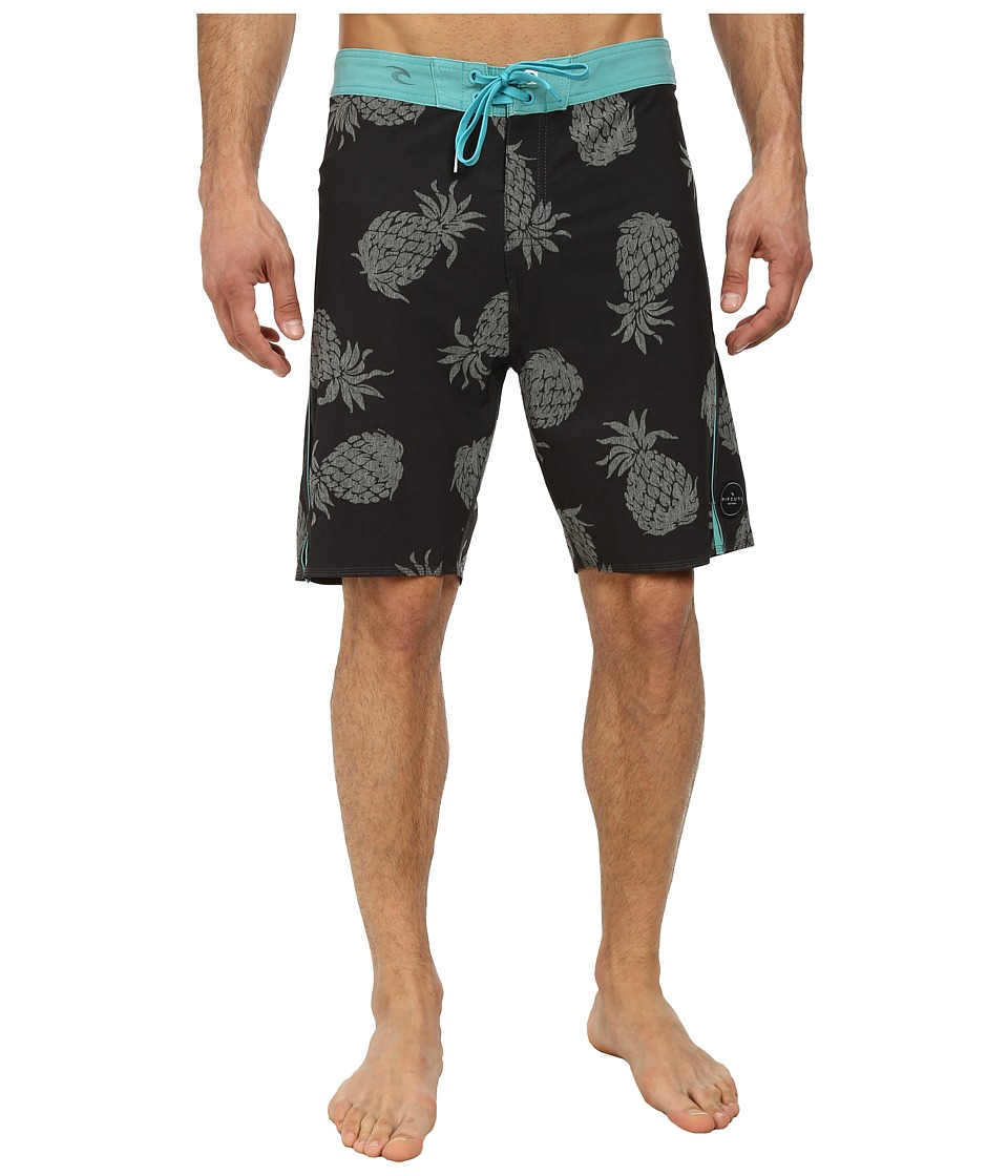 Rip Curl - Mirage Aggropineapples Boardshorts (Charcoal) Men's Swimwear