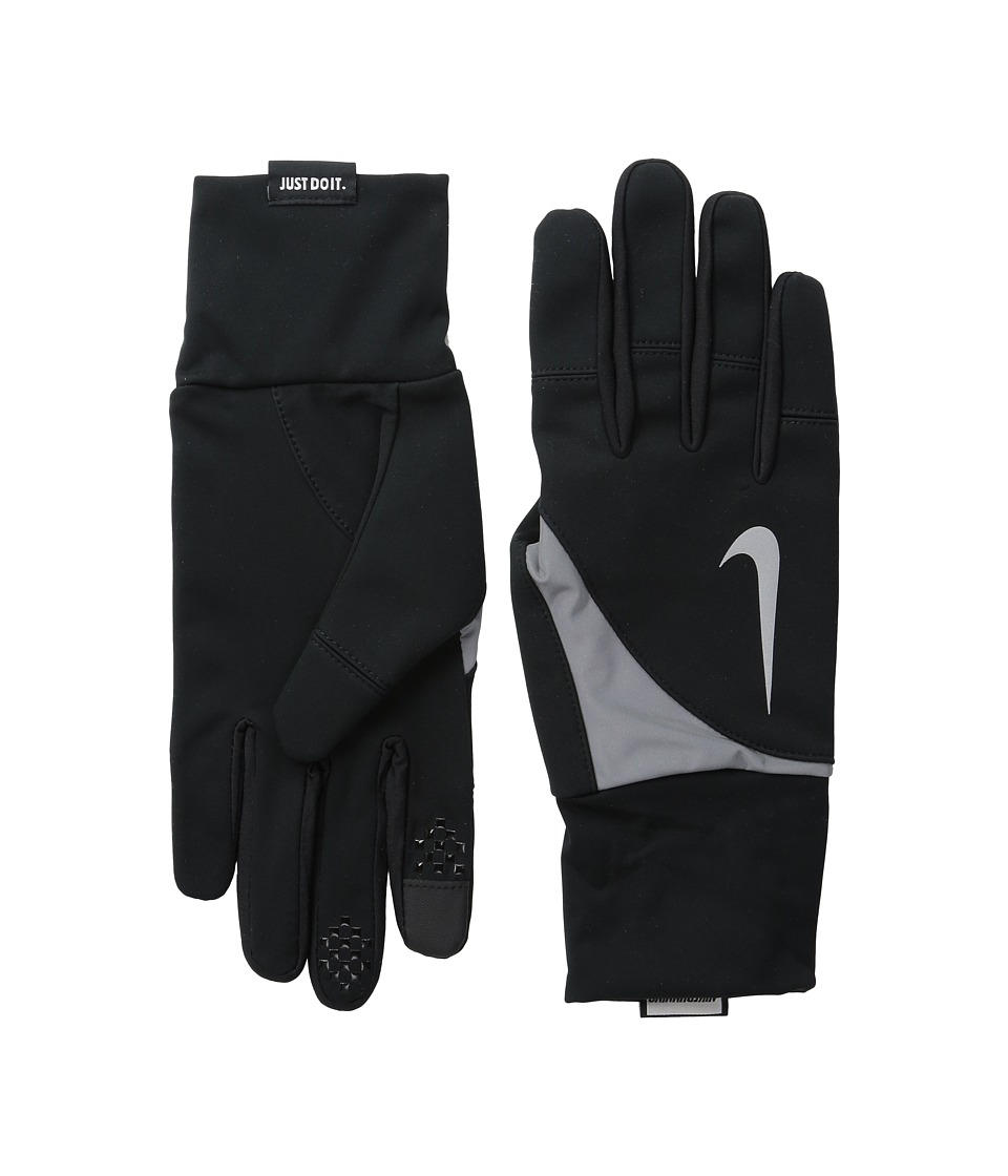 Nike - Shield Run Gloves (Black) Athletic Sports Equipment