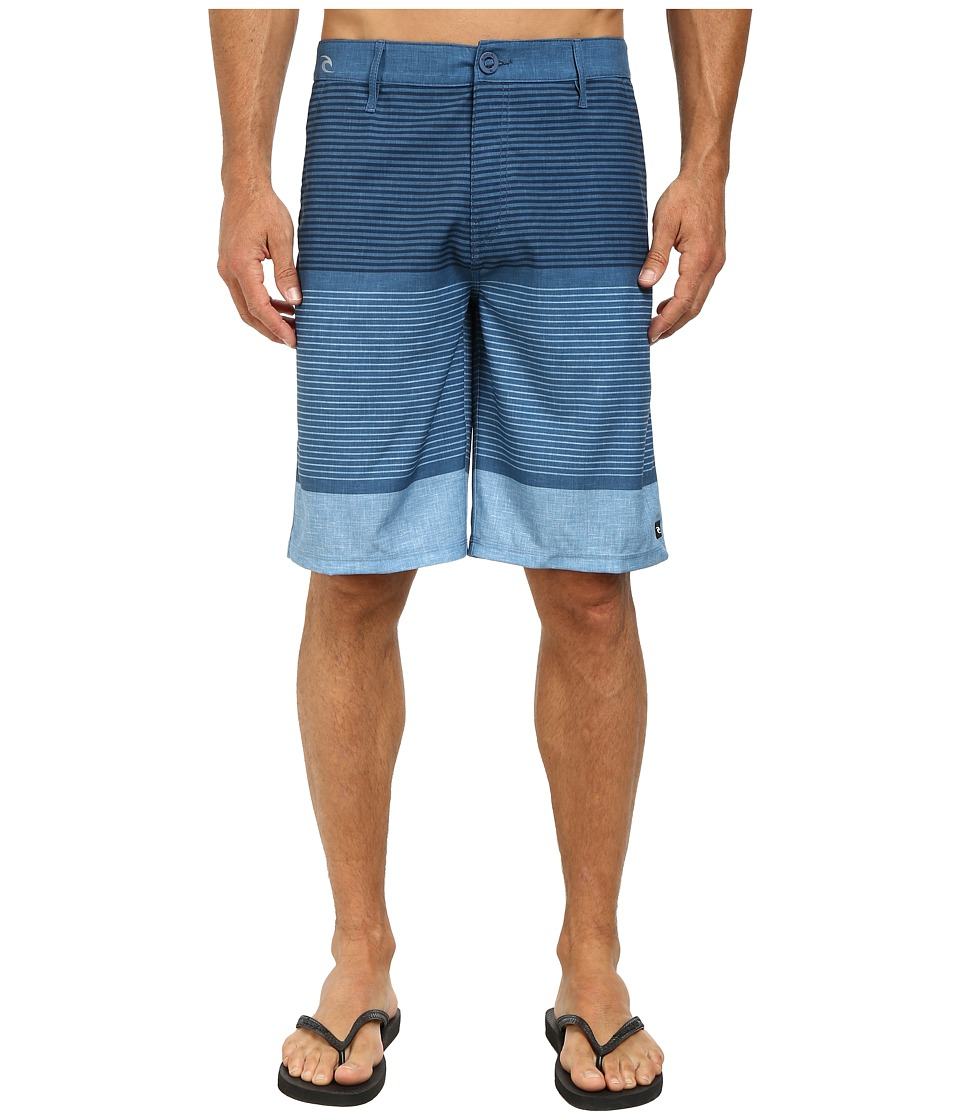 Rip Curl - Mirage Ignition Boardwalk Shorts (Blue) Men's Shorts