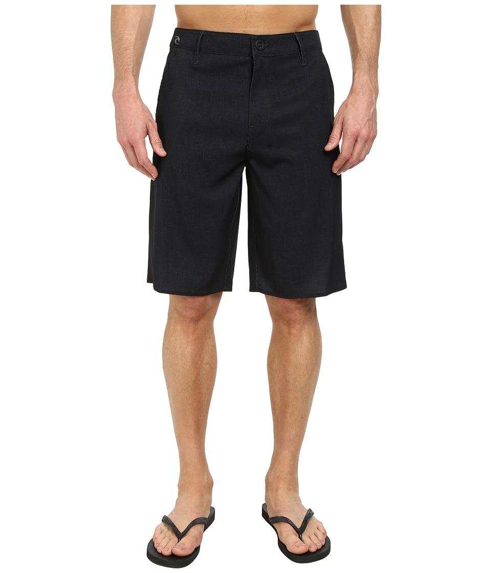 Rip Curl - Mirage Phaser Boardwalk Shorts (Black) Men's Shorts
