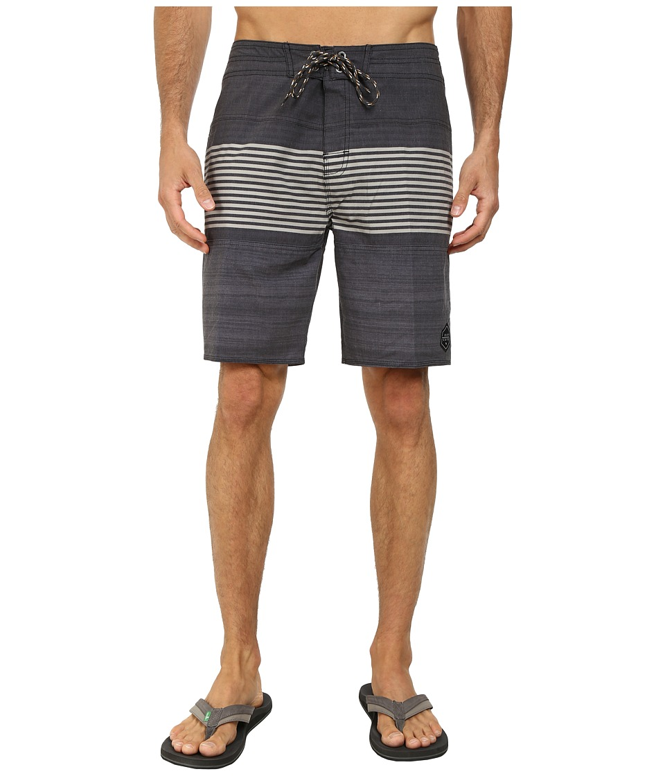 Rip Curl - Rapture Boardwalk Shorts (Black 2) Men's Shorts