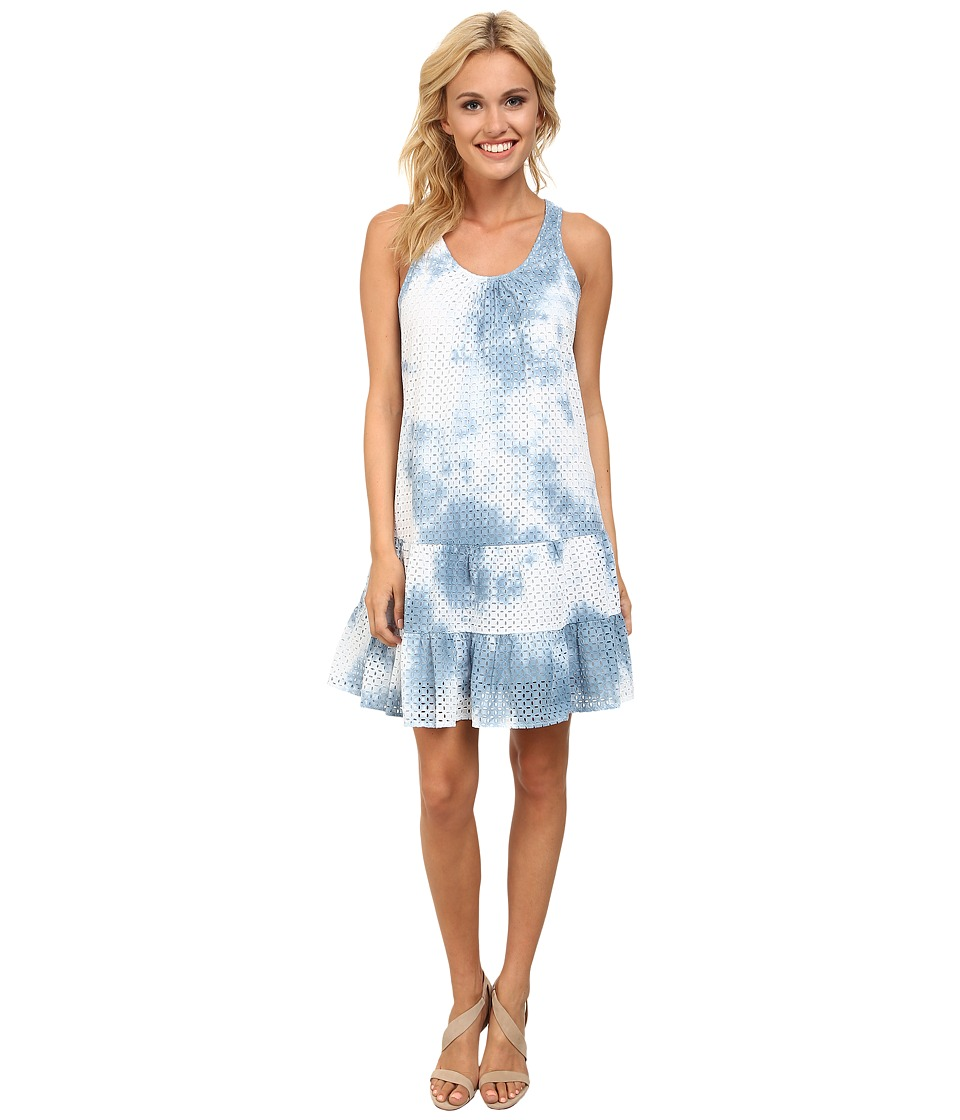 CATHERINE Catherine Malandrino - Angel Dress (Tie-Dye Blue) Women's Dress