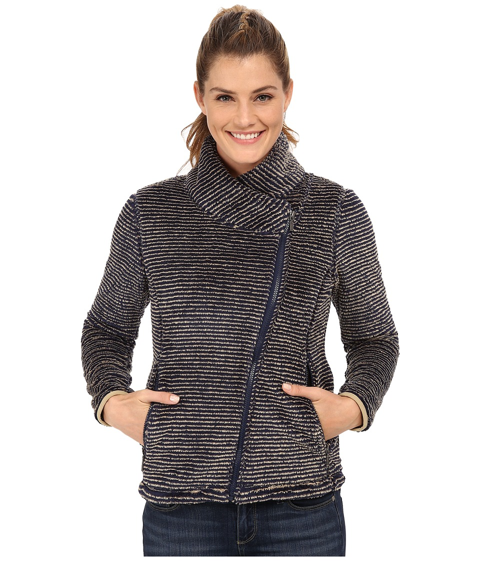 Mountain Khakis - Wanderlust Fleece Jacket (Navy) Women's Coat