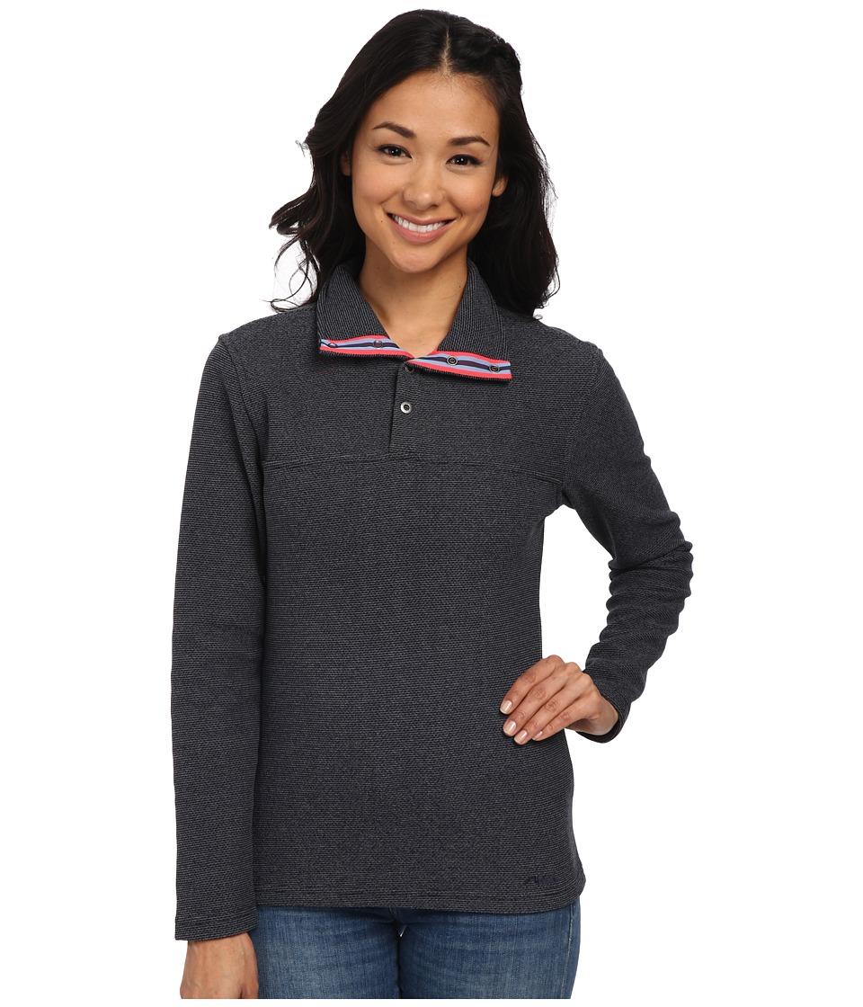 Mountain Khakis - Pop Top Pullover Jacket (Navy) Women's Jacket