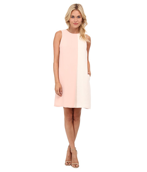 CATHERINE Catherine Malandrino - Harper Dress (Guava/Ivory) Women's Dress