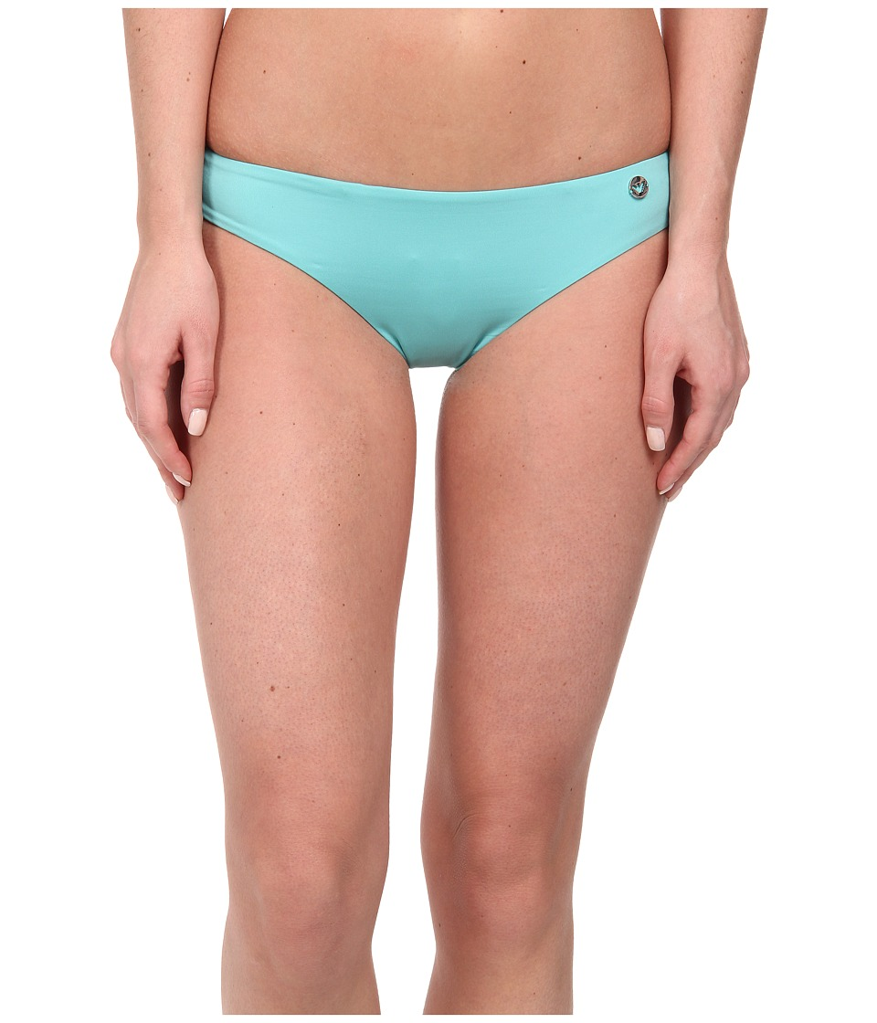 Emporio Armani - Mix and Match Knit Bikini Bottom (Carribean) Women's Swimwear