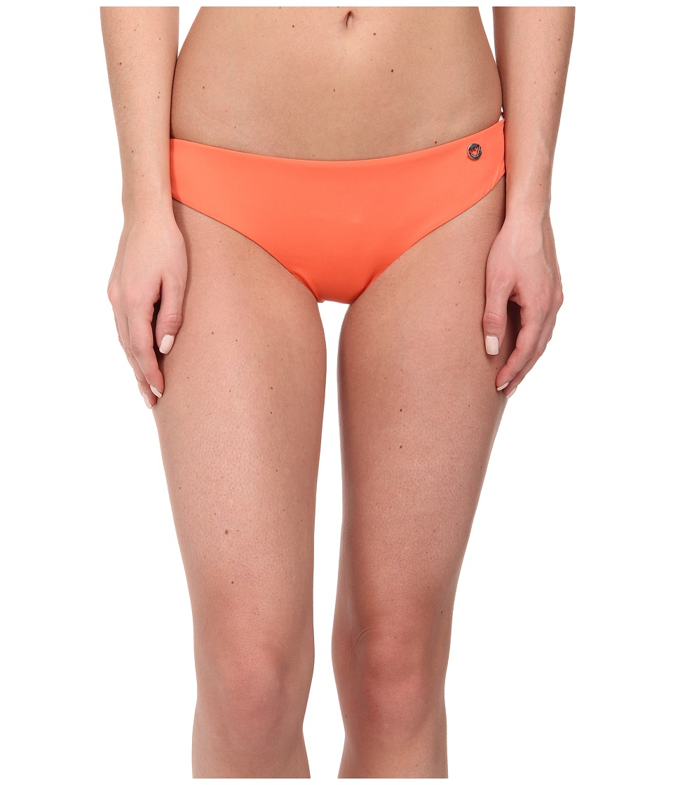 Emporio Armani - Mix and Match Knit Bikini Bottom (Orange) Women's Swimwear