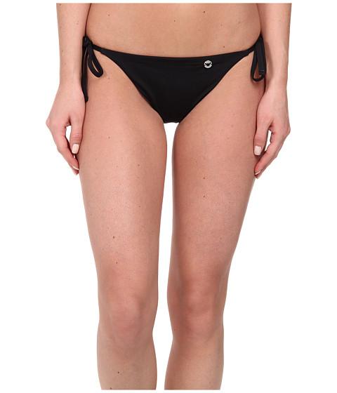 Emporio Armani - Mix and Match Knit Bikini Bottom (Black) Women's Swimwear