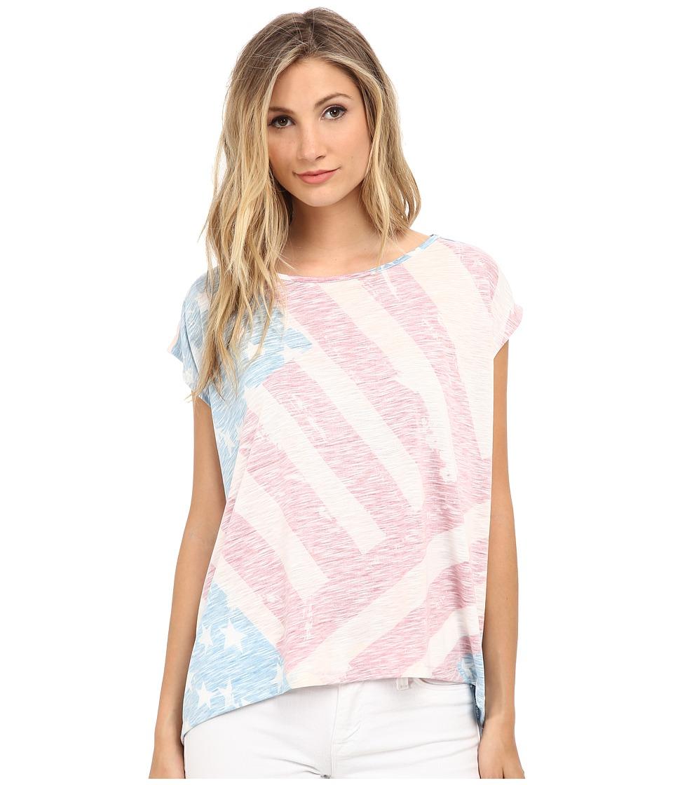 CATHERINE Catherine Malandrino - Americana Tee (Flag) Women's T Shirt
