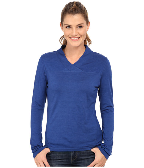 Mountain Khakis - Rendezvous Micro Wrap Neck Shirt (Marlin) Women