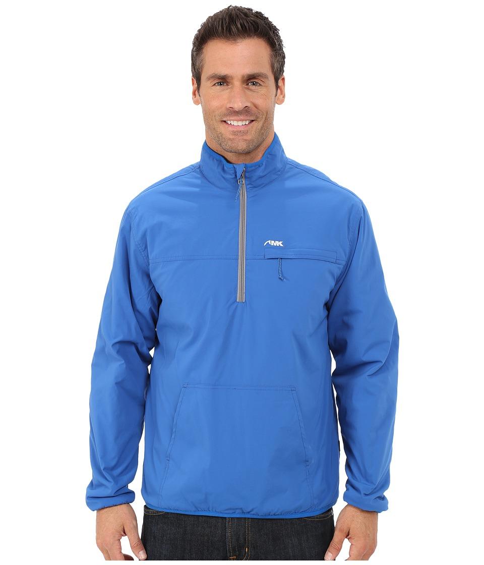 Mountain Khakis - Alpha Switch Pullover Jacket (Cowboy Blue) Men's Coat