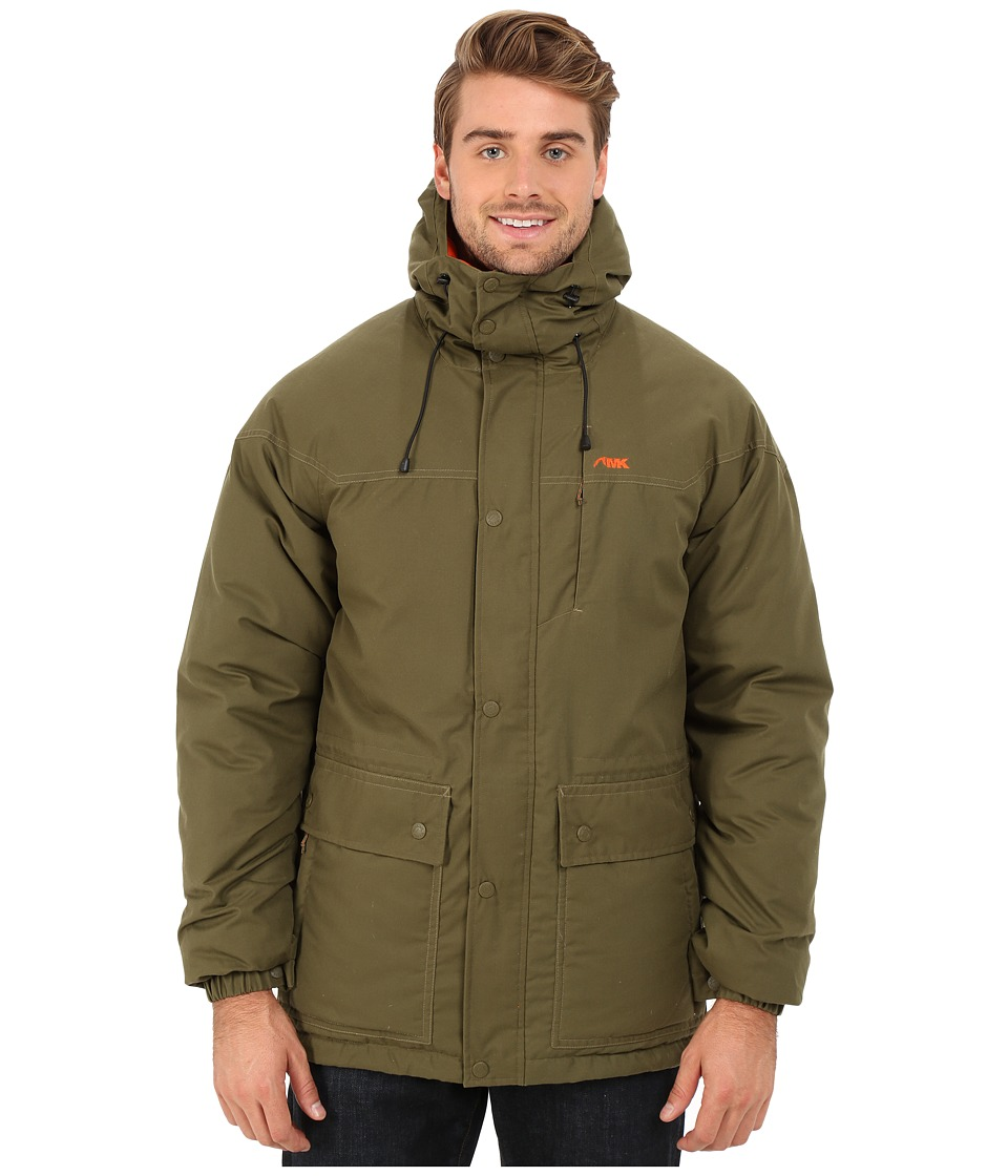 Mountain Khakis - Double Down Parka Jacket (Field Green) Men's Coat