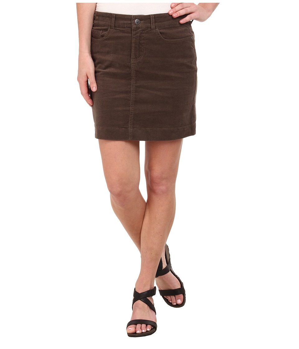 Mountain Khakis Canyon Cord Skirt (Terra) Women