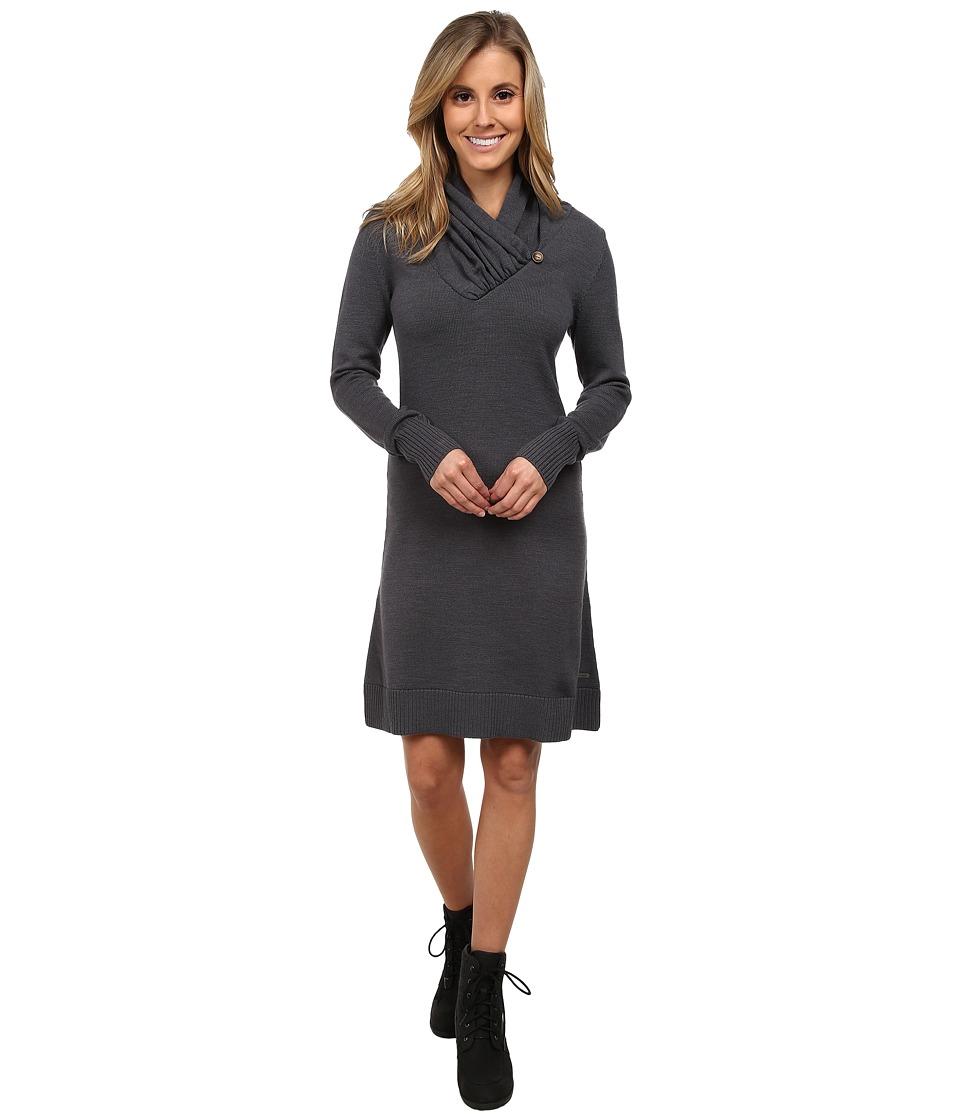 Mountain Khakis - Cascade Sweater Dress (Slate) Women's Dress
