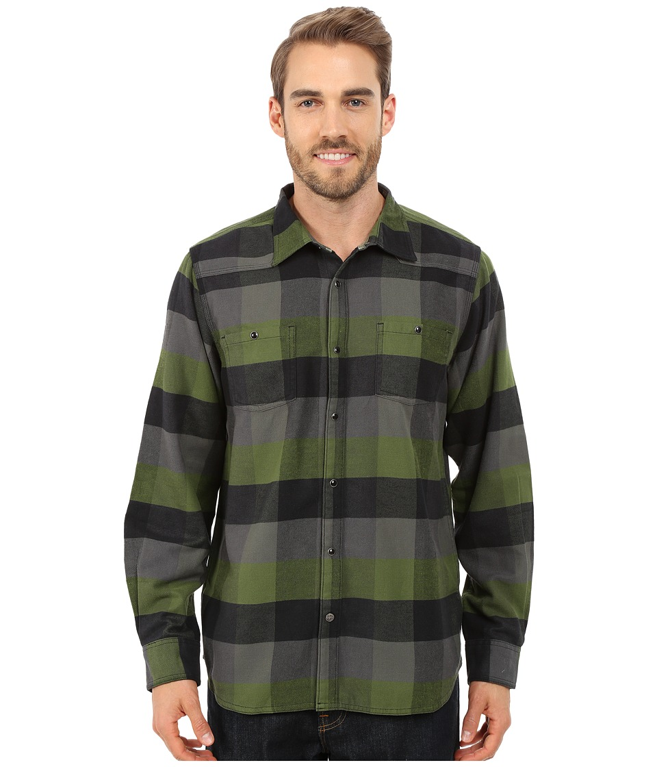 Mountain Khakis - Saloon Flannel Shirt (Wild Grass) Men's Clothing