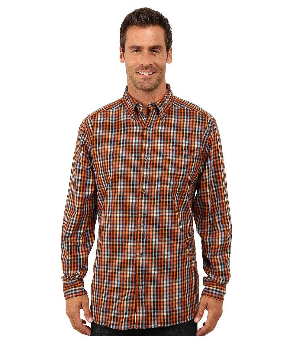 Mountain Khakis - Downtown Flannel Shirt (Wren) Men's Clothing