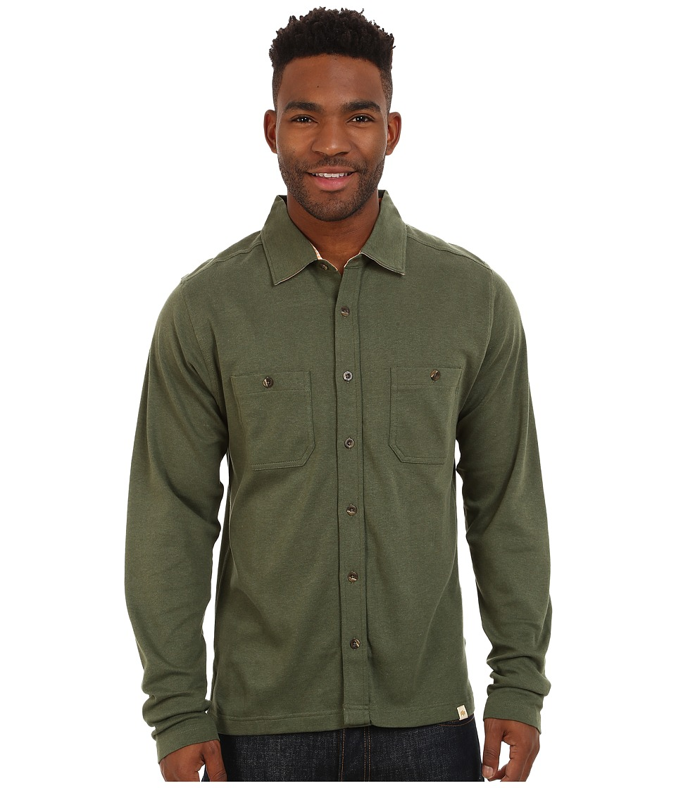Mountain Khakis - Eagle Long Sleeve Shirt (Pine) Men's Clothing