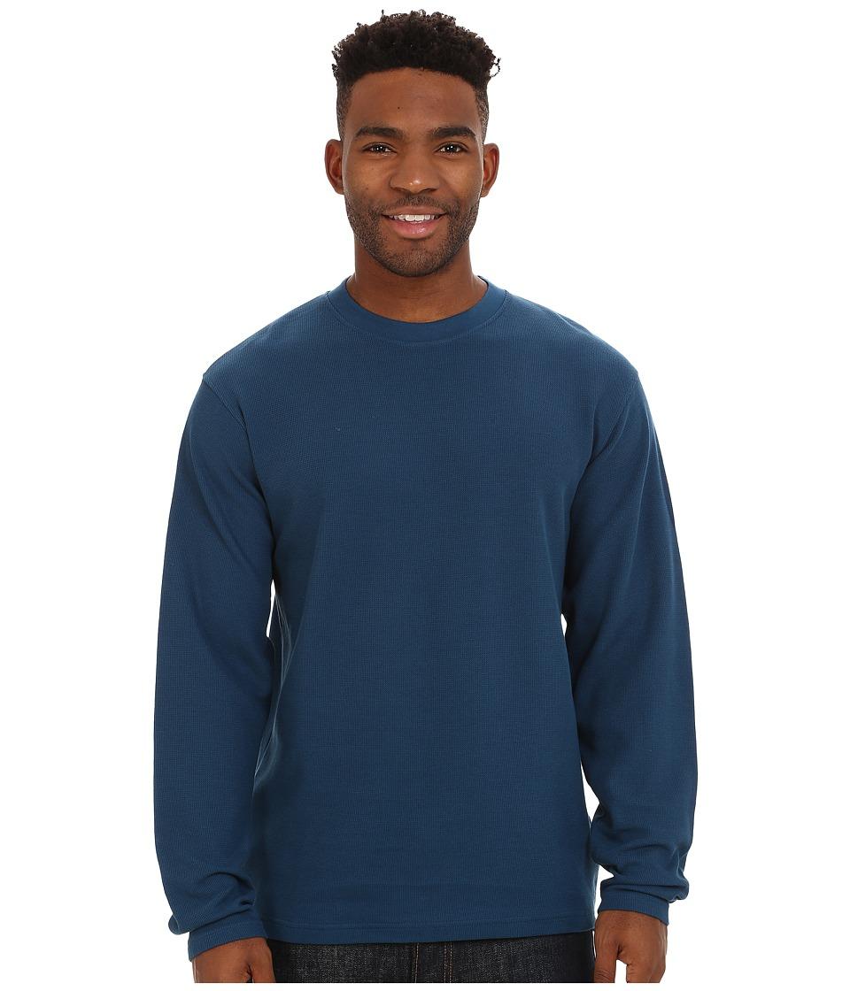 Mountain Khakis - Belgian Crew Shirt (Deep Blue) Men's Clothing