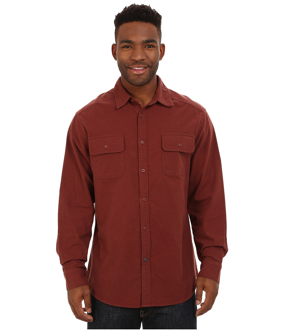 Mountain Khakis - Ranger Chamois Shirt (Oxblood) Men's Clothing