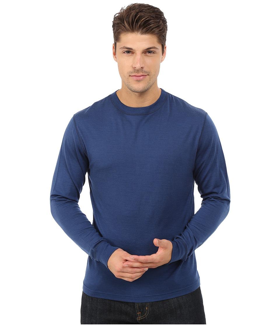 Mountain Khakis - Rendezvous Micro Crew Shirt (Clear Blue) Men's Clothing