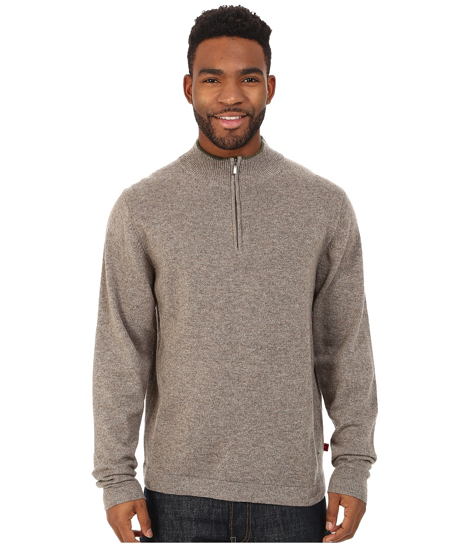Mountain Khakis - Lodge Qtr Zip Sweater (Squirrel) Men's Sweater