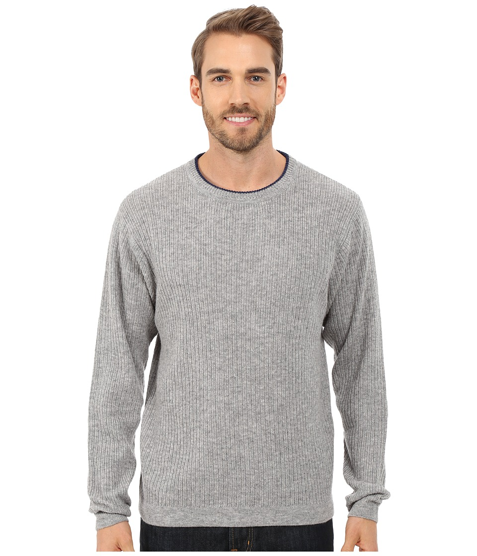 Mountain Khakis - Lodge Crew Neck Sweater (Heather Grey) Men's Sweater