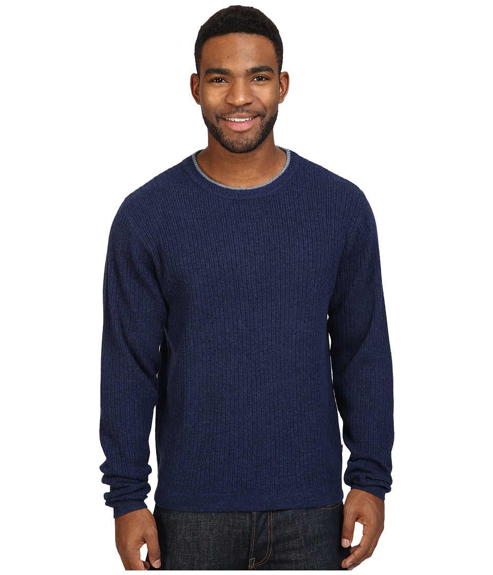 Mountain Khakis - Lodge Crew Neck Sweater (Midnight) Men's Sweater