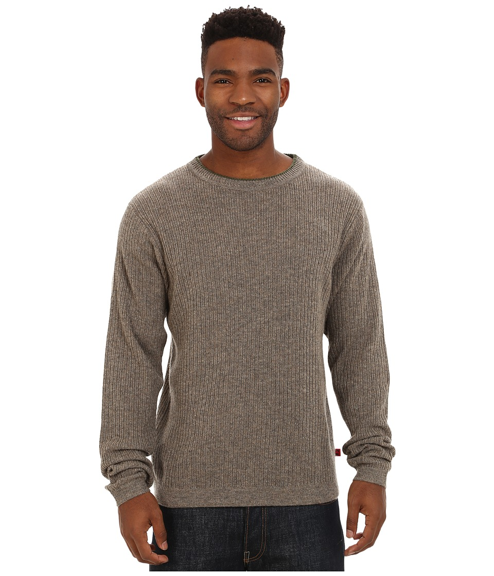 Mountain Khakis - Lodge Crew Neck Sweater (Squirrel) Men's Sweater