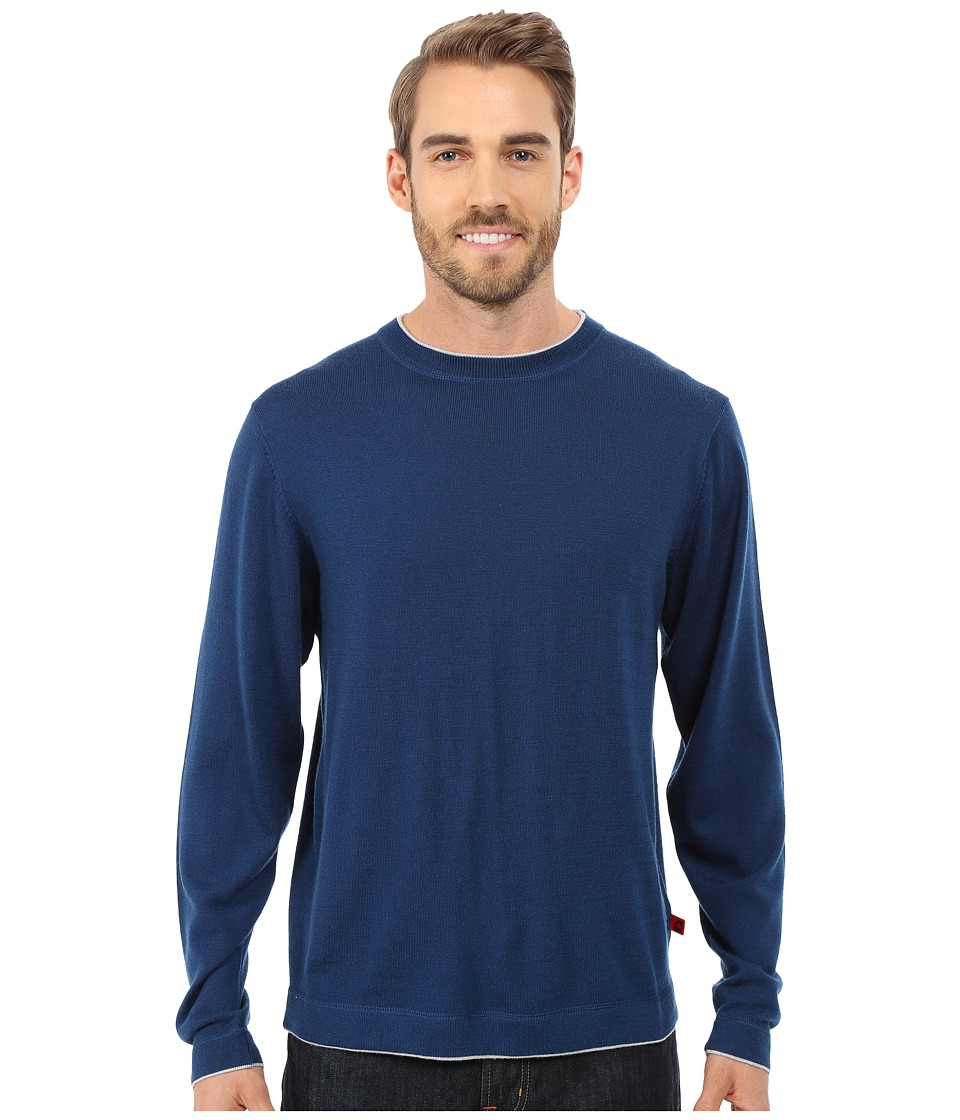 Mountain Khakis - Cascade Merino Crew Neck Sweater (Deep Blue) Men's Sweater