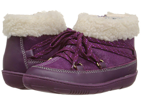 Clarks Kids - Maxi Moon (Toddler) (Purple) Girl