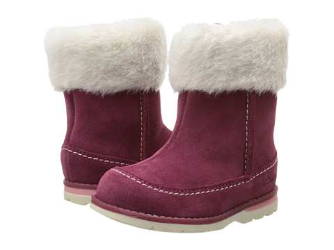 Clarks Kids - Dabi Petal (Toddler) (Berry) Girl's Shoes