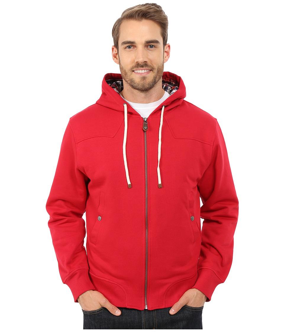 Mountain Khakis - Jackson Insulated Hoodie (Cardinal) Men