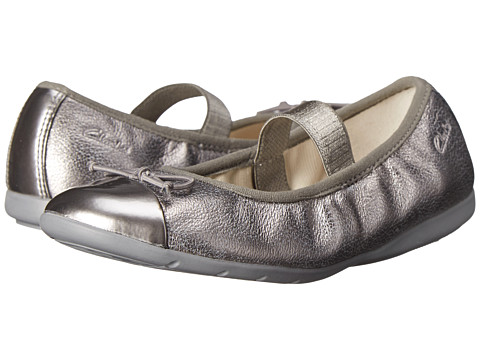 Clarks Kids - Dance Puff (Little Kid) (Silver) Girl