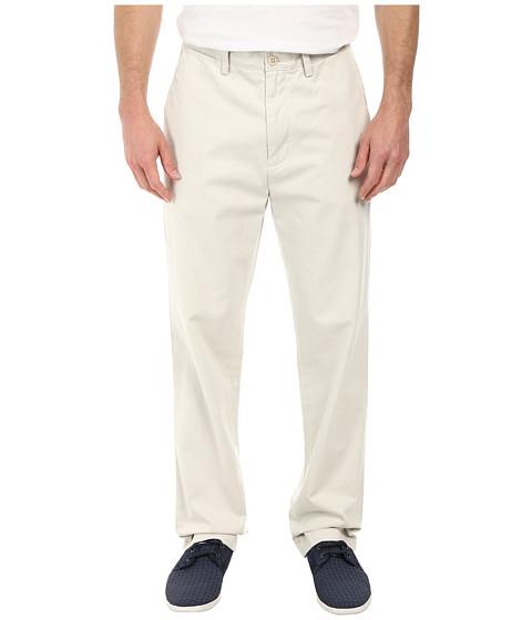 Nautica - Classic Flat Front Pants (Nautica Stone) Men's Casual Pants