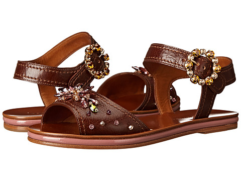 Dolce & Gabbana - C19138 (Tan) Women's Sandals