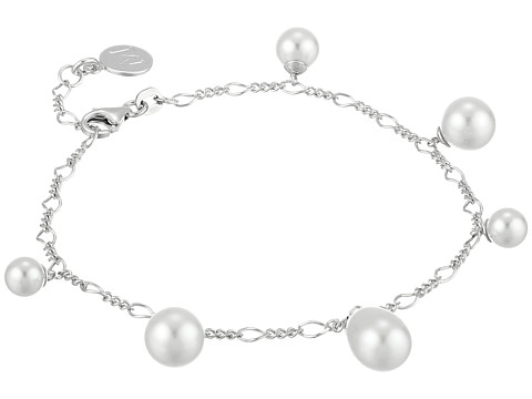 Majorica - Rain Pearl Drop Bracelet (Silver/White) Bracelet