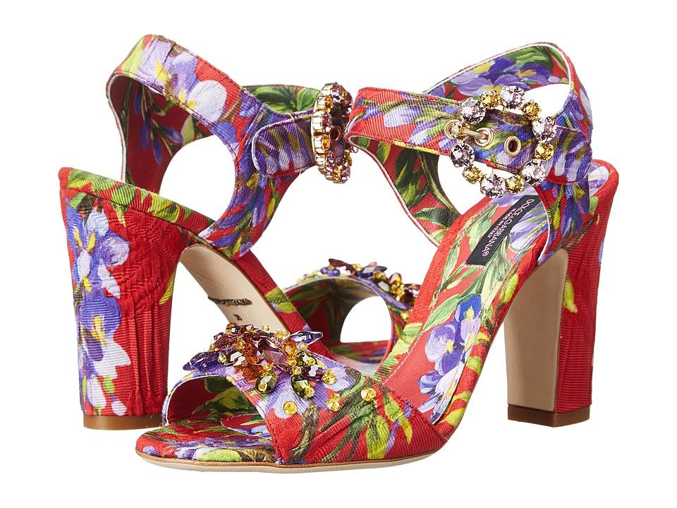 Dolce & Gabbana - C19230 (Coral) High Heels