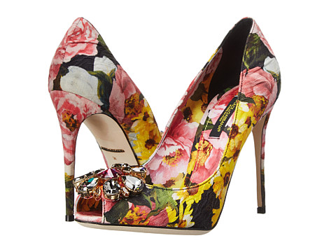 Dolce & Gabbana - C19216 (Black/Pink) High Heels