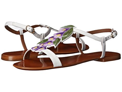 Dolce & Gabbana - C19239 (White) Women's Sandals
