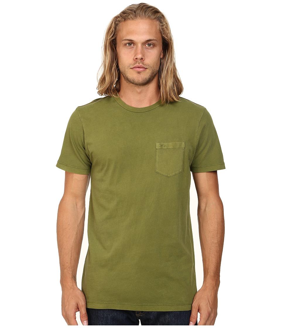 RVCA - PTC 2 Pigment Knit Tee (Cedar) Men's T Shirt
