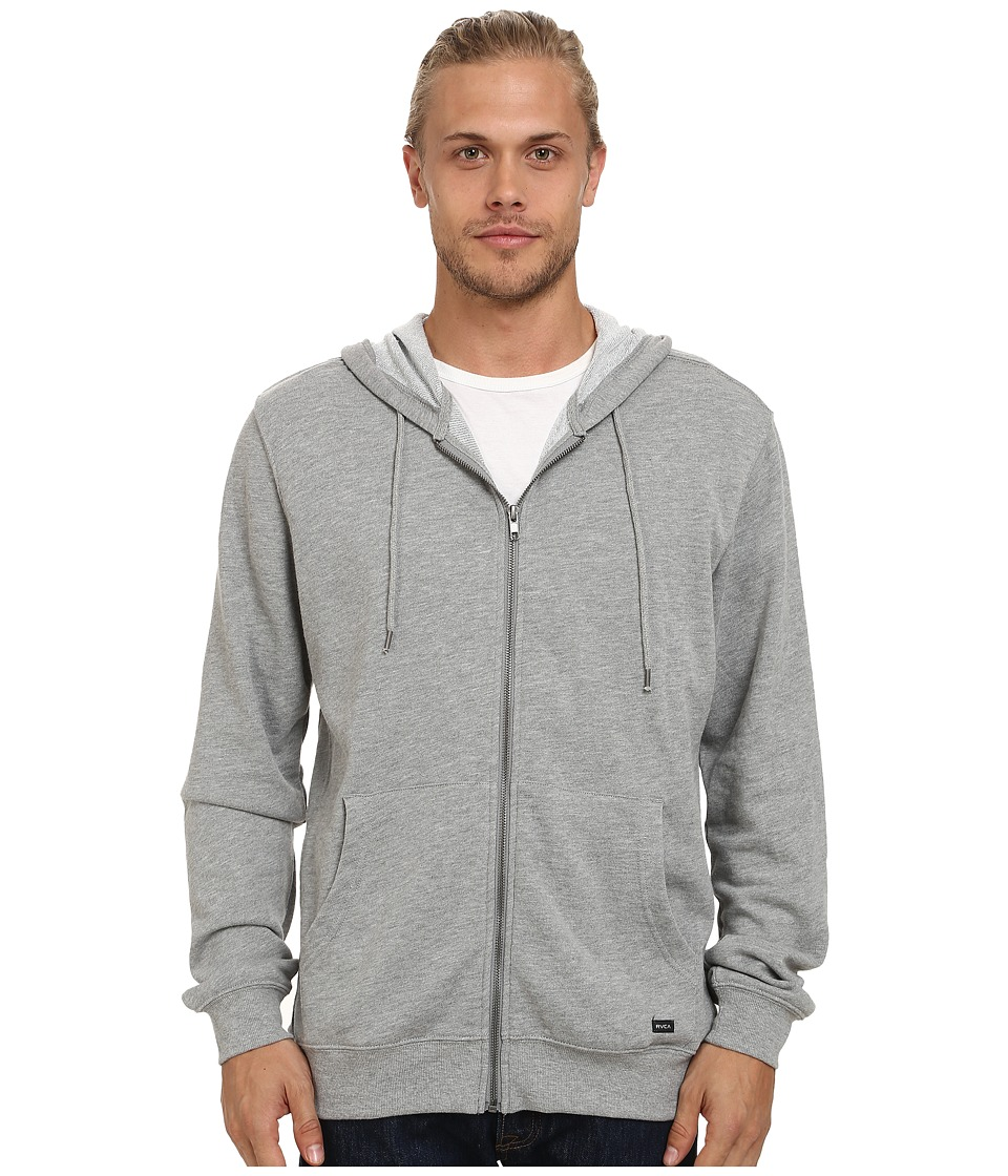 RVCA - Crucial II Zip Hoodie (Athletic) Men's Sweatshirt