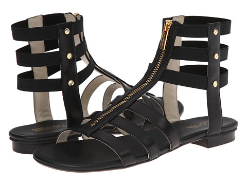 MICHAEL Michael Kors - Codie Sandal (Black Vachetta/Elastic) Women's Sandals