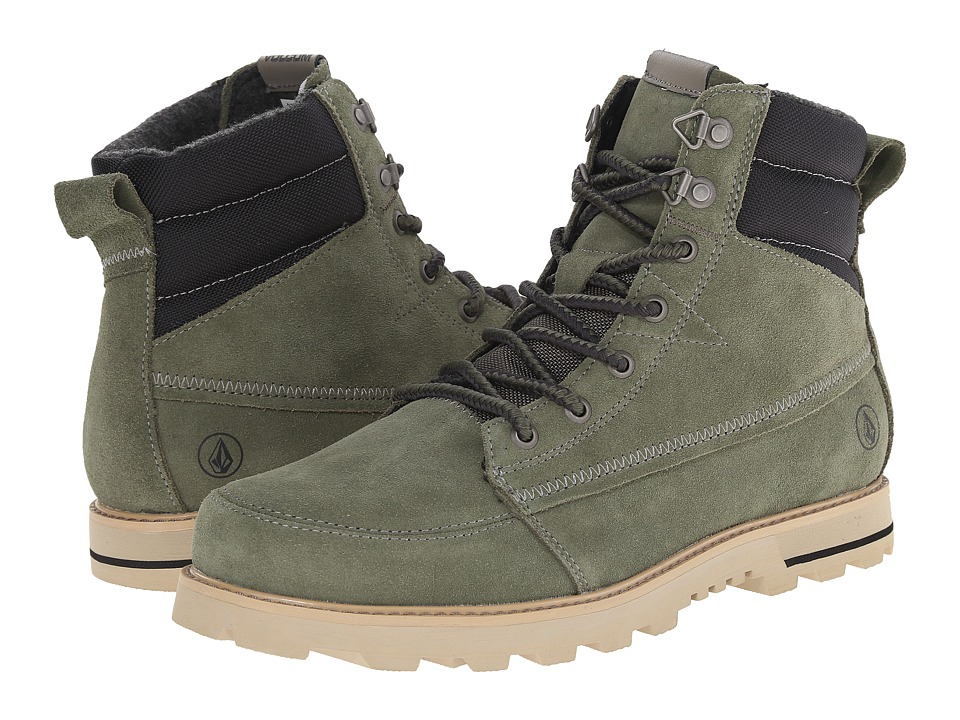 Volcom - Sub Zero 2 (Military) Men's Lace-up Boots