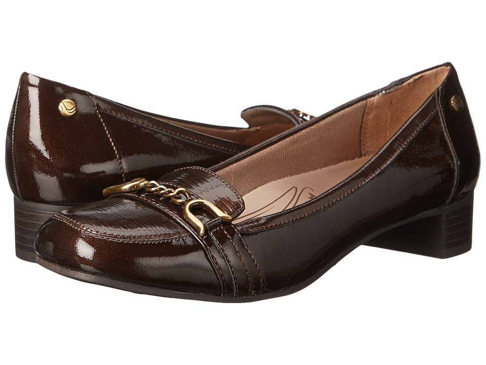 LifeStride - Maison (Bronze) Women's Slip-on Dress Shoes