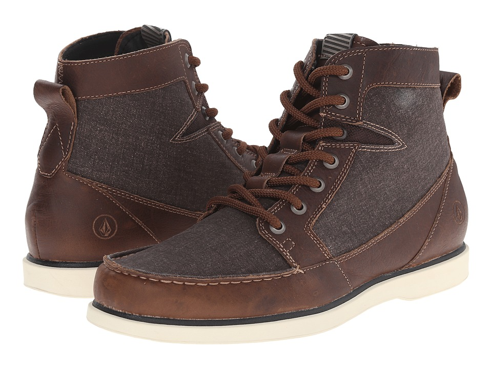 Volcom - Berrington 2 (Hide Brown) Men's Lace-up Boots
