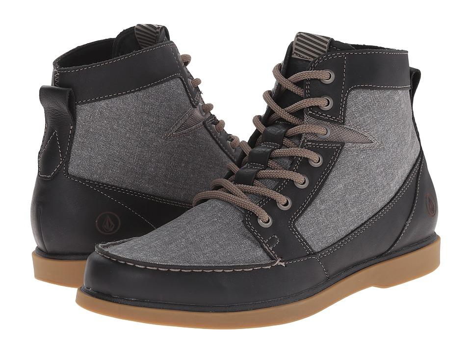 Volcom - Berrington 2 (Vintage Black) Men's Lace-up Boots