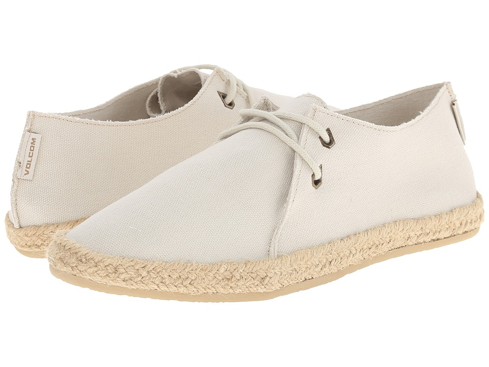 Volcom - Uptown (Off White) Women's Lace up casual Shoes