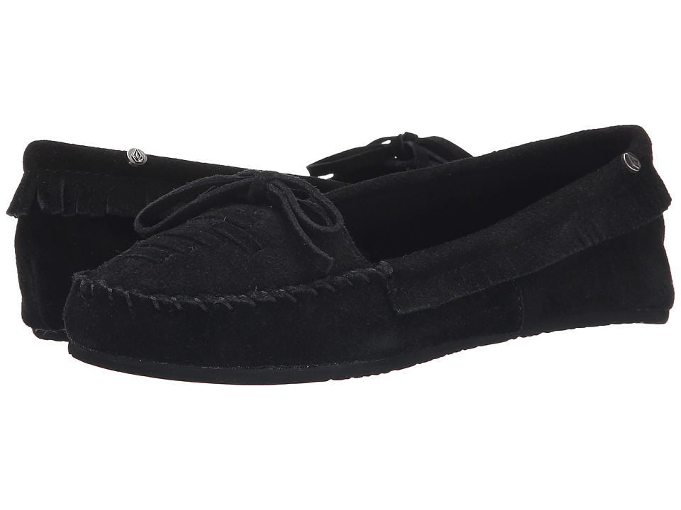 Volcom - Lovebirds (Black) Women's Moccasin Shoes