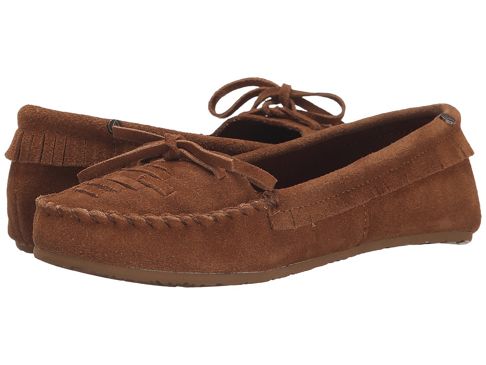 Volcom - Lovebirds (Cognac) Women's Moccasin Shoes