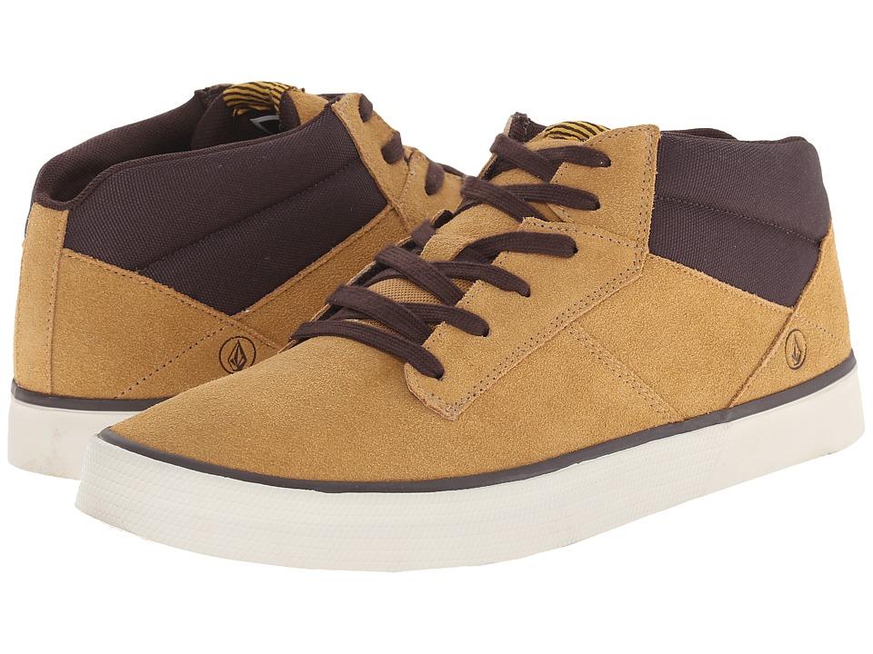 Volcom - Grimm Mid 2 (Khaki) Men's Shoes